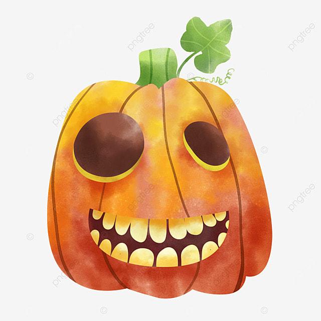 watercolor halloween pumpkin autumn festival