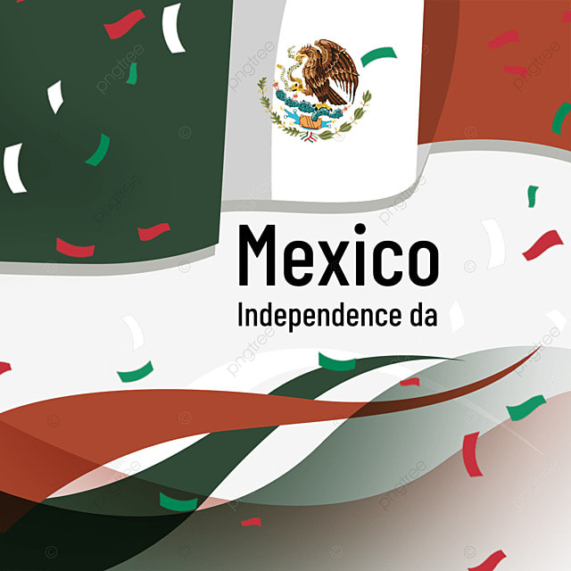 colored paper flag mexico independence day