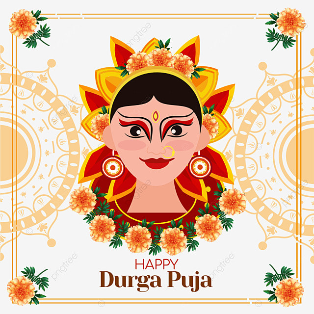 indian marigold durga bodhisattva festival