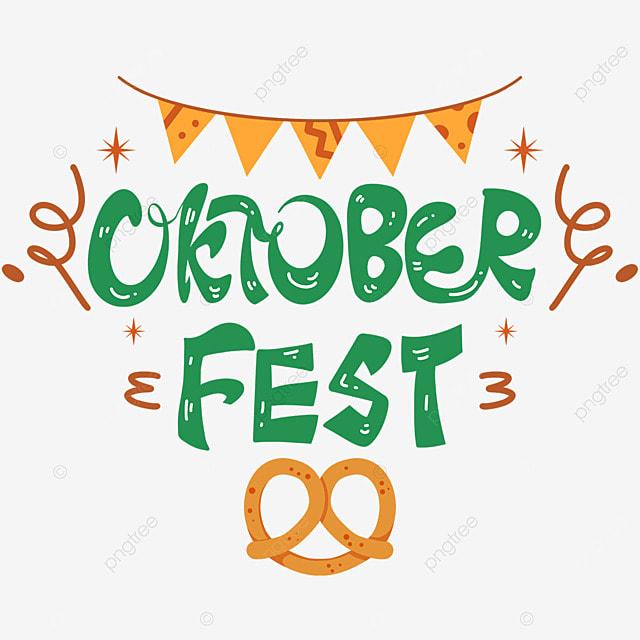 oktoberfest green word art