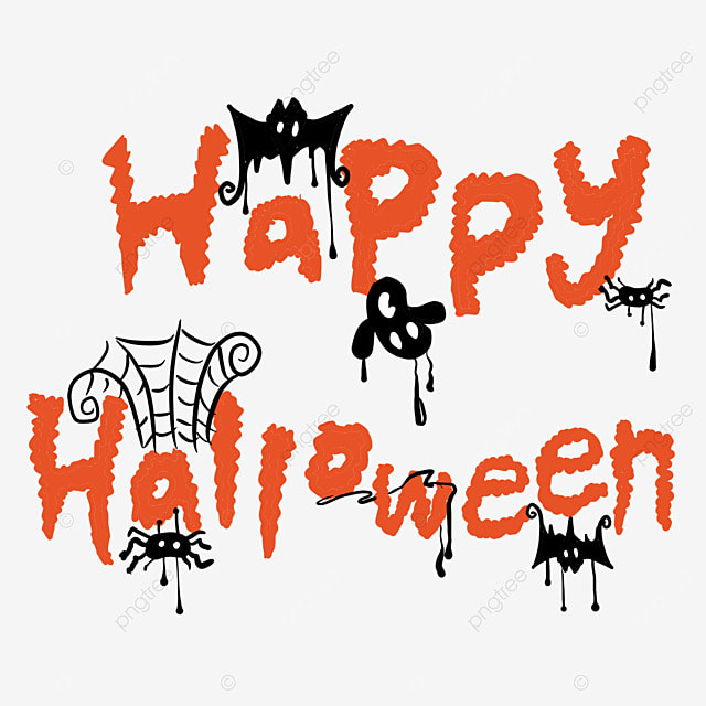 color halloween cartoon art calligraphy and painting