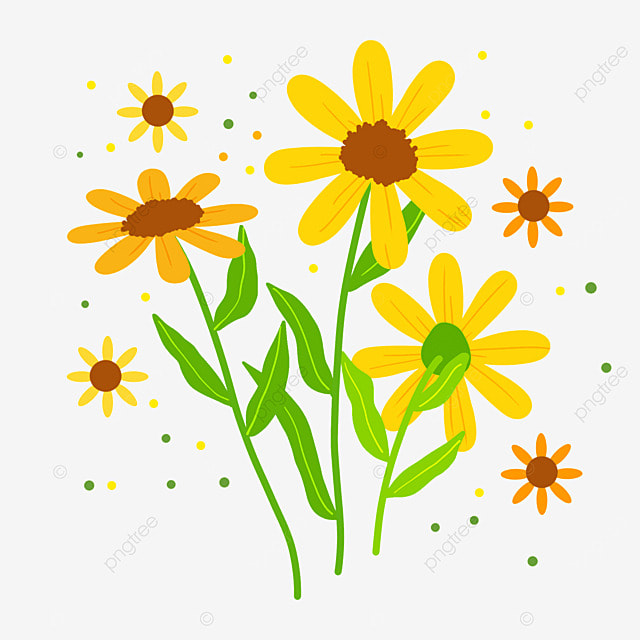 ethiopian new year yellow daisies