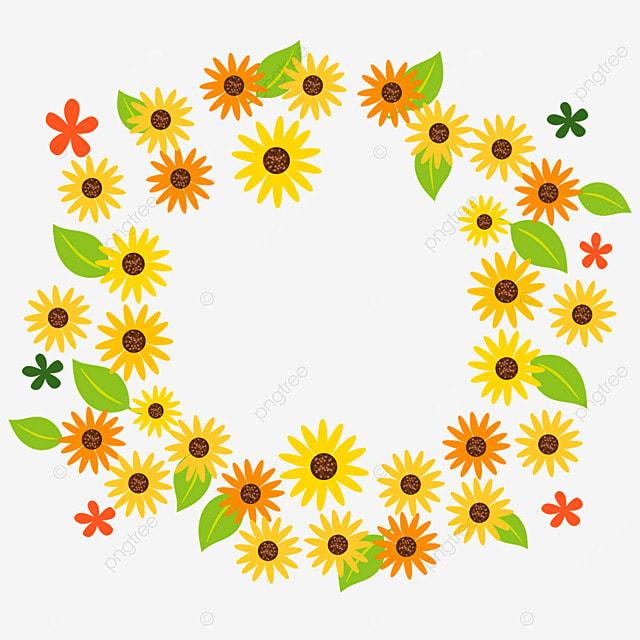 ethiopian new year yellow flower border