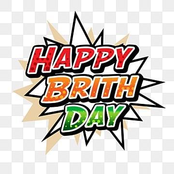 สุขสันต์วันเกิดการ์ตูนสีเต็มรูปแบบ, มีความสุข, วันเกิด, ทักทาย PNG และ PSD