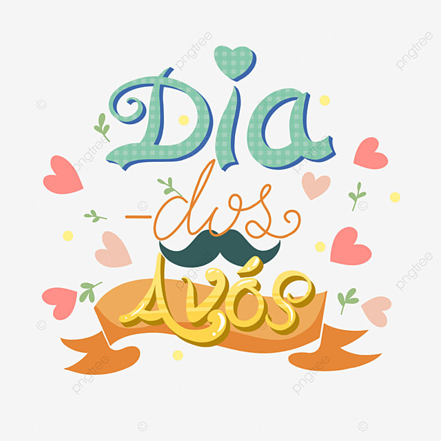 brazilian grandparents day font