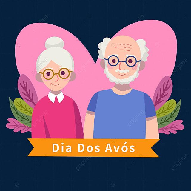 brazilian grandparents day pink love