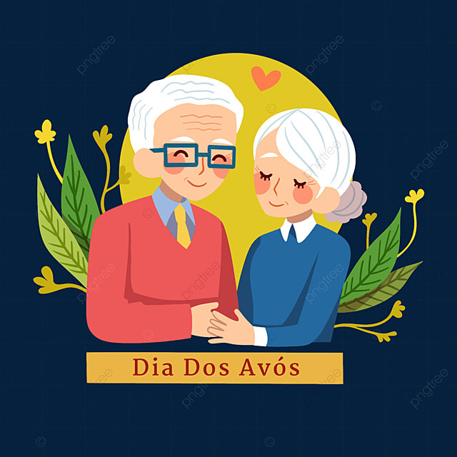 caring for each other on brazilian grandparents day