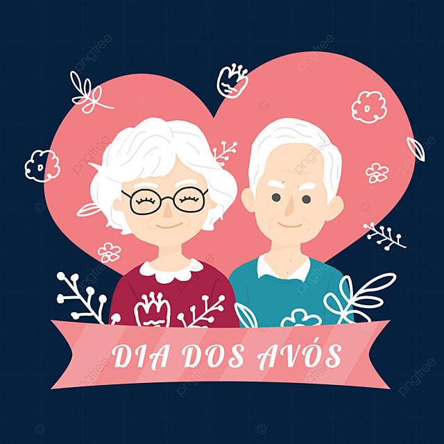 pink brazilian grandparents day