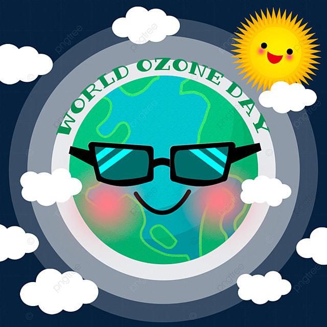 world ozone day beautiful illustrations