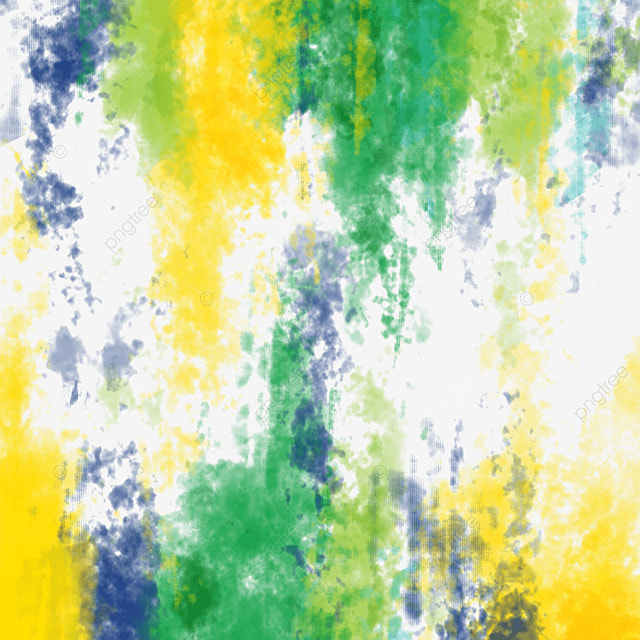brush brazil flag color colorful broken creative