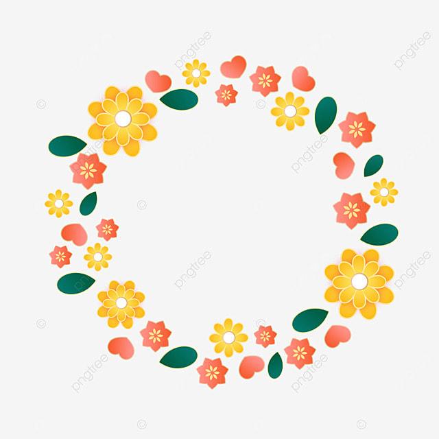 decorative border flowers
