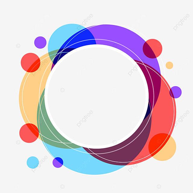 decorative border round geometric creativity