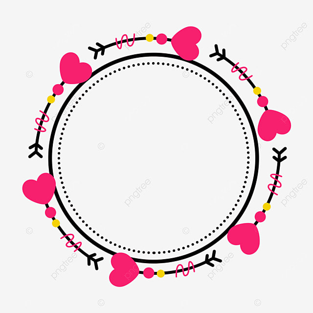 decorative border round lines