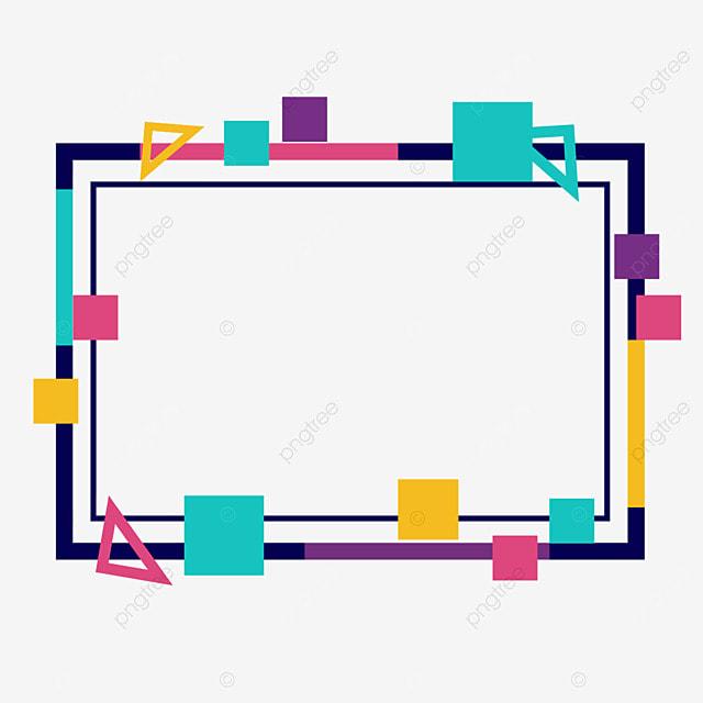 decorative border square geometry