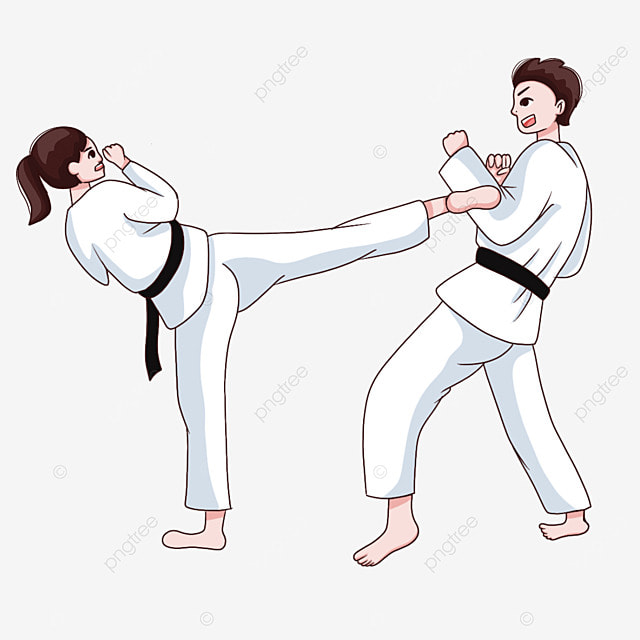 karate doubles athlete