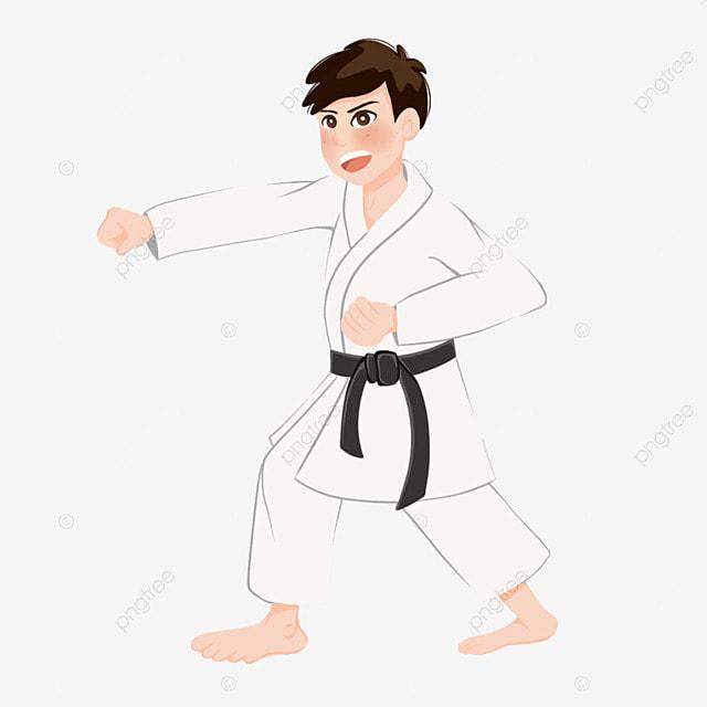 karate male karate pose