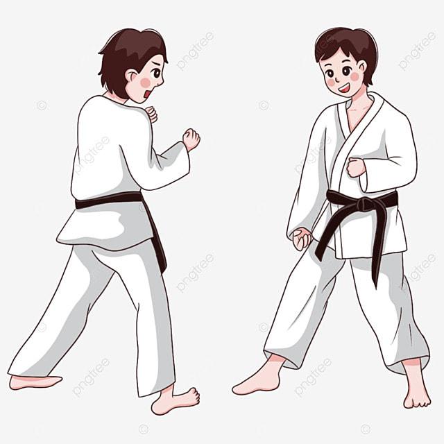 karate martial arts boy athlete