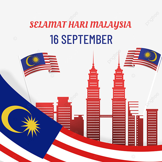 malaysia day flag building