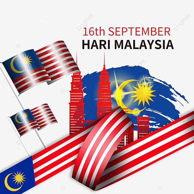 malaysia day stars moon brush flag