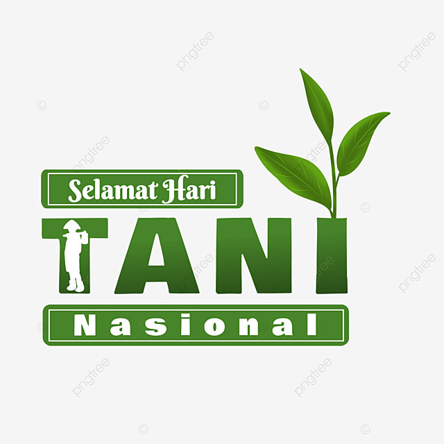 indonesian national farmers day with tea leaves