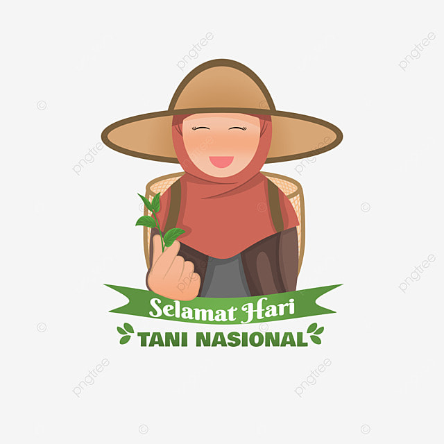 indonesian national farmers day with tea