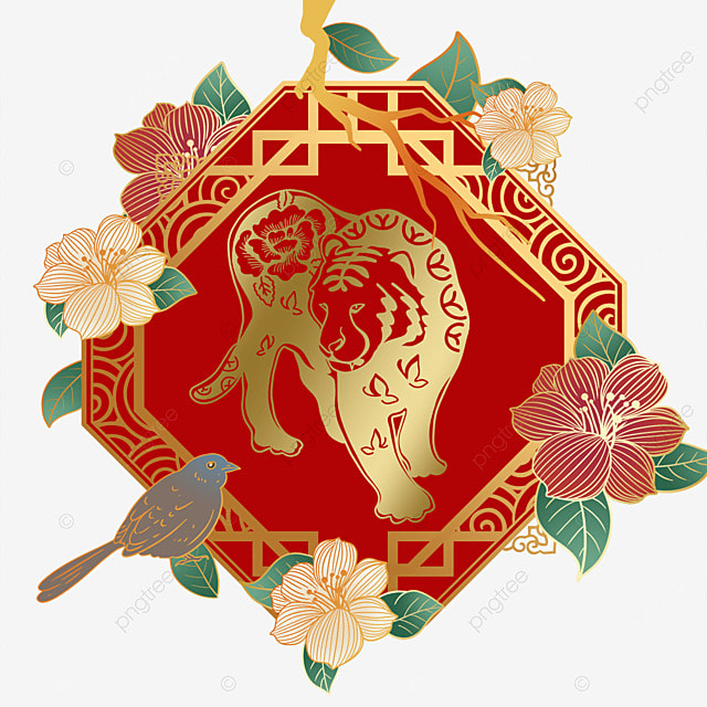 chinese new year year of the tiger spring festival 2022