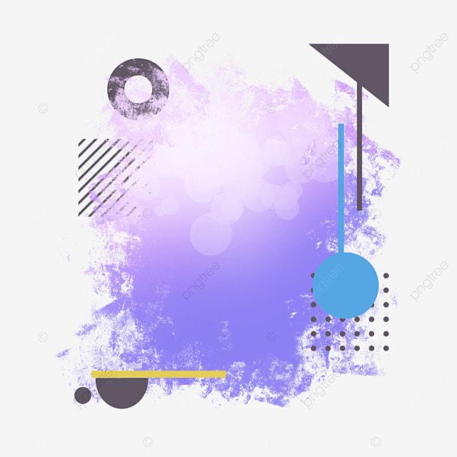 border brush garbage halo light effect art purple