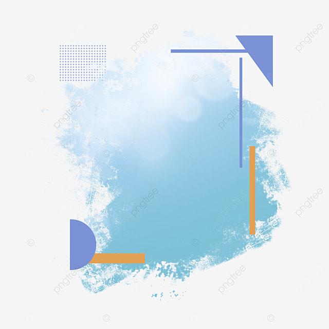border brush halftone lighting art gradient blue