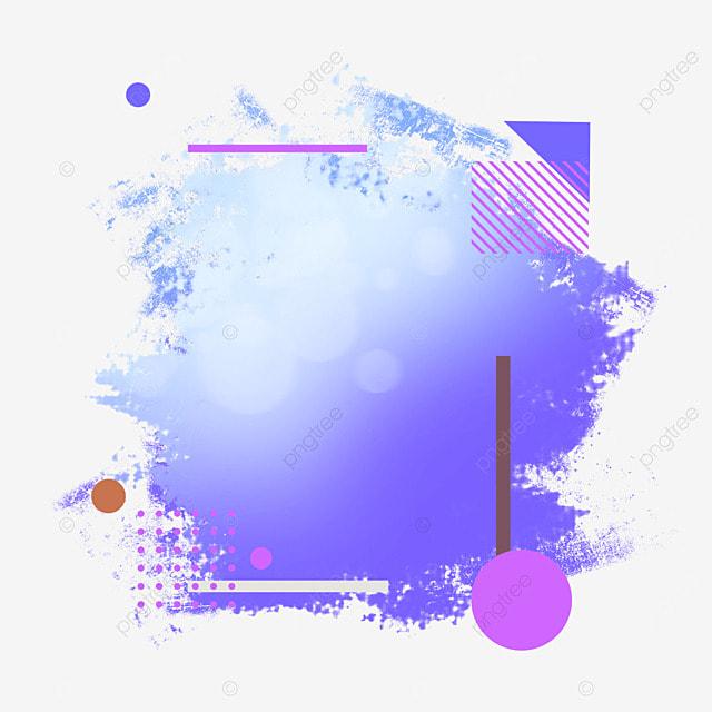 border brush light effect gradient abstract purple