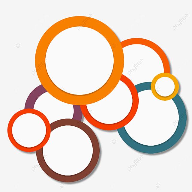 border circle overlay abstract color