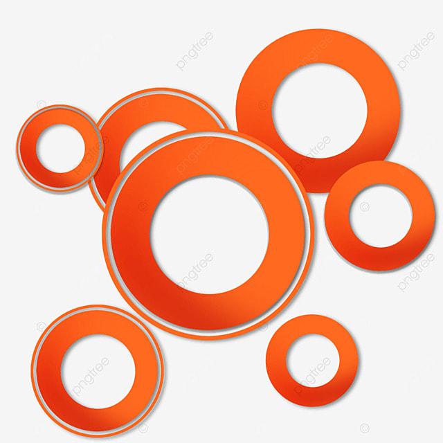 border ring creative gradient orange