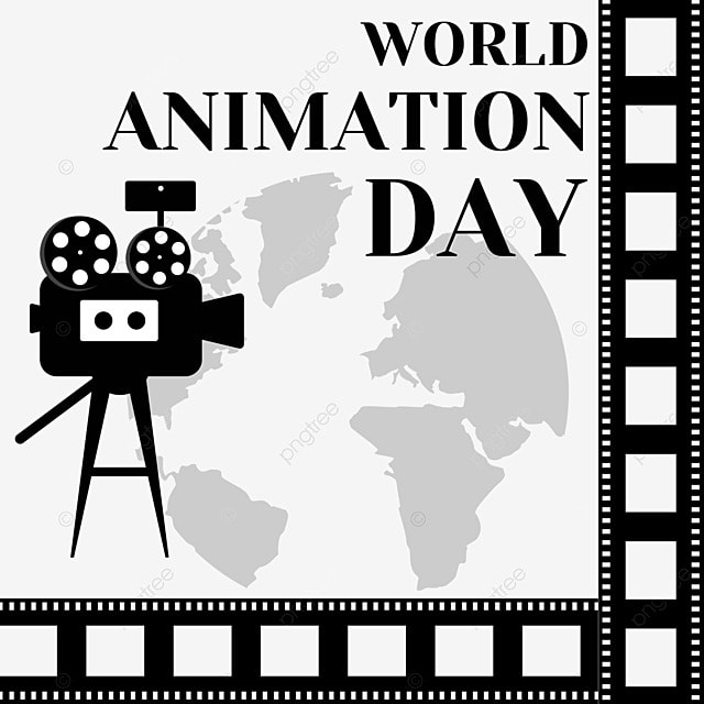 film photography of animation works on world animation day