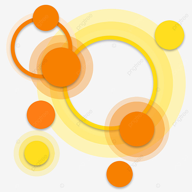 frame aperture circle abstract orange