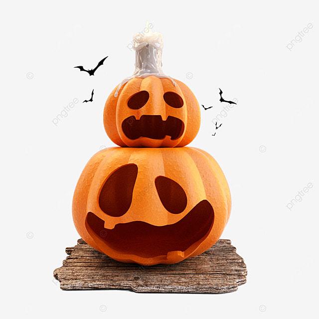 halloween pumpkin candle