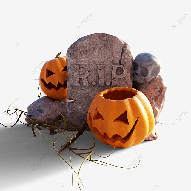 halloween tombstone pumpkin