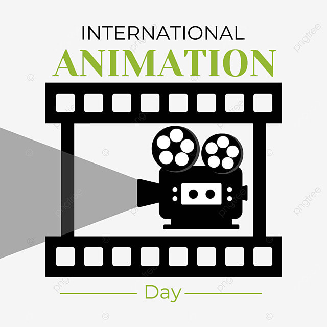 world animation day film shooting broadcasting and screening of animated films and television