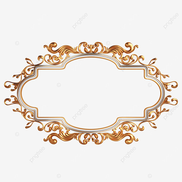 3d exquisite pattern frame