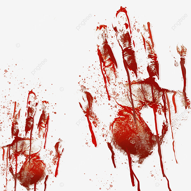 blood palm horror halloween