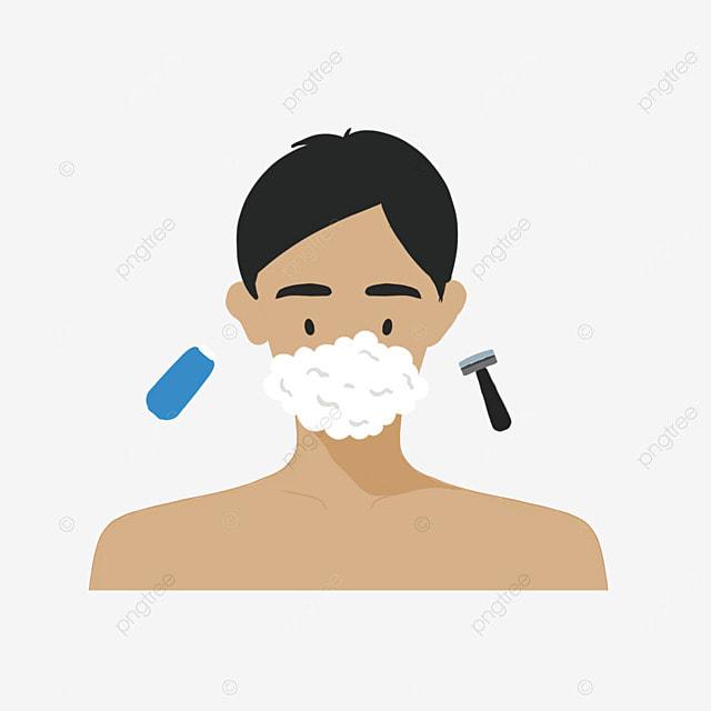 mens cartoon cute cleansing