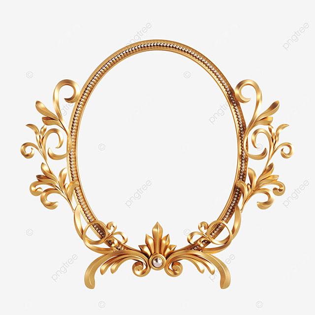 oval metal retro frame
