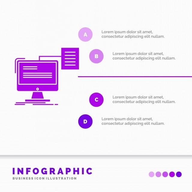 Cv Modèle De Document Produites Au Moyen De L Infographie