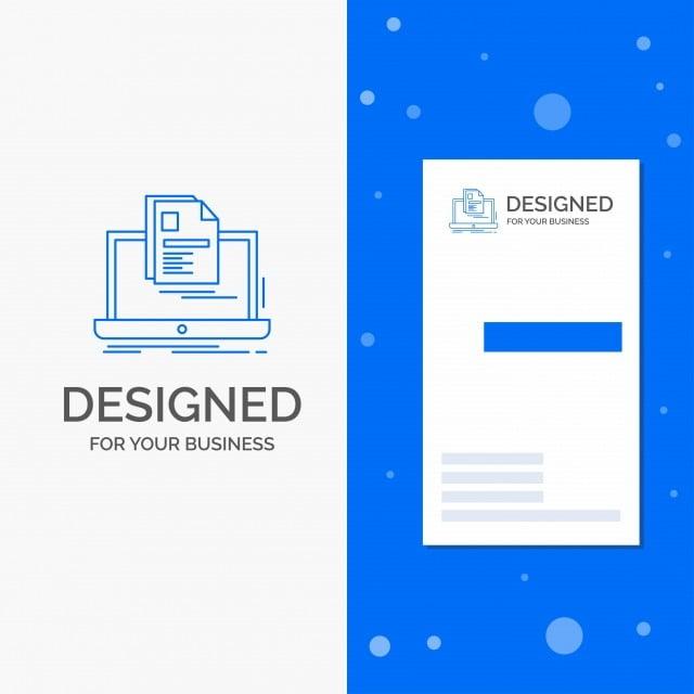 Logotipo De La Empresa Por Cuenta Laptop Imprimir Informe Curriculum