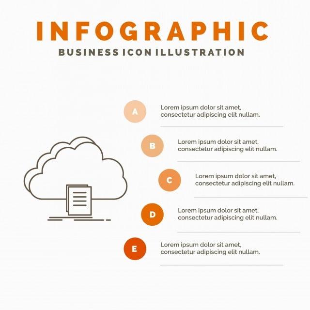 acceso cloud el documento Descargar infografia plantilla fo archivo Gratis  PNG y Vector 215c95b8b698