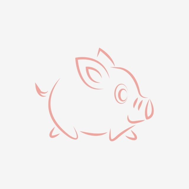 Pig Animal Symbol Of Chinese New Year 2019 New Year Symbol Png