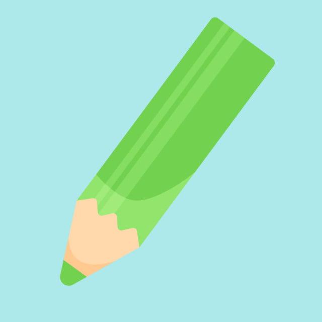 Cây Bút Màu Xanh Lá Cây Các Vector Green Cây Bút Màu Bút