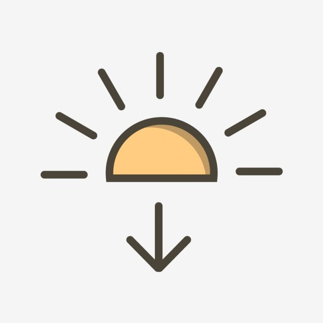 vector sundown icon sun icon sunrise icon sunset icon png and vector with transparent background for free download sun icon sunrise icon sunset icon png