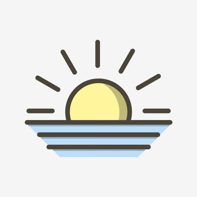 vector sunset icon sunset icons sky icon sunset icon png and vector with transparent background for free download vector sunset icon sunset icons sky