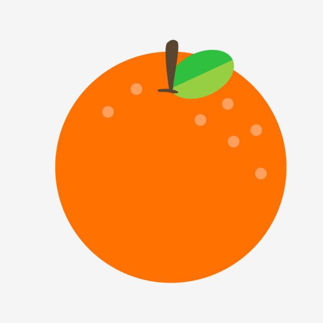 Cor Quente Fresco No Verao Cartoon Laranja Desenhos Frutas