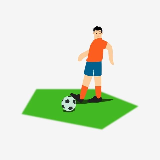 pertandingan sepak bola piala dunia menendang tanah hijau orang ilustrasi sepak bola blok warna png dan vektor dengan latar belakang transparan untuk unduh gratis pertandingan sepak bola piala dunia