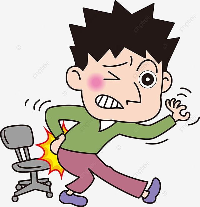 Gambar Leher Dan Bahu Sakit Sakit Punggung Yang Tidak Selesa Kartun Lelaki Menyakitkan Ungkapan Sakit Adalah Tidak Selesa Lelaki Kartun Leher Dan Bahu Sakit Png Dan Vektor Untuk Muat Turun Percuma